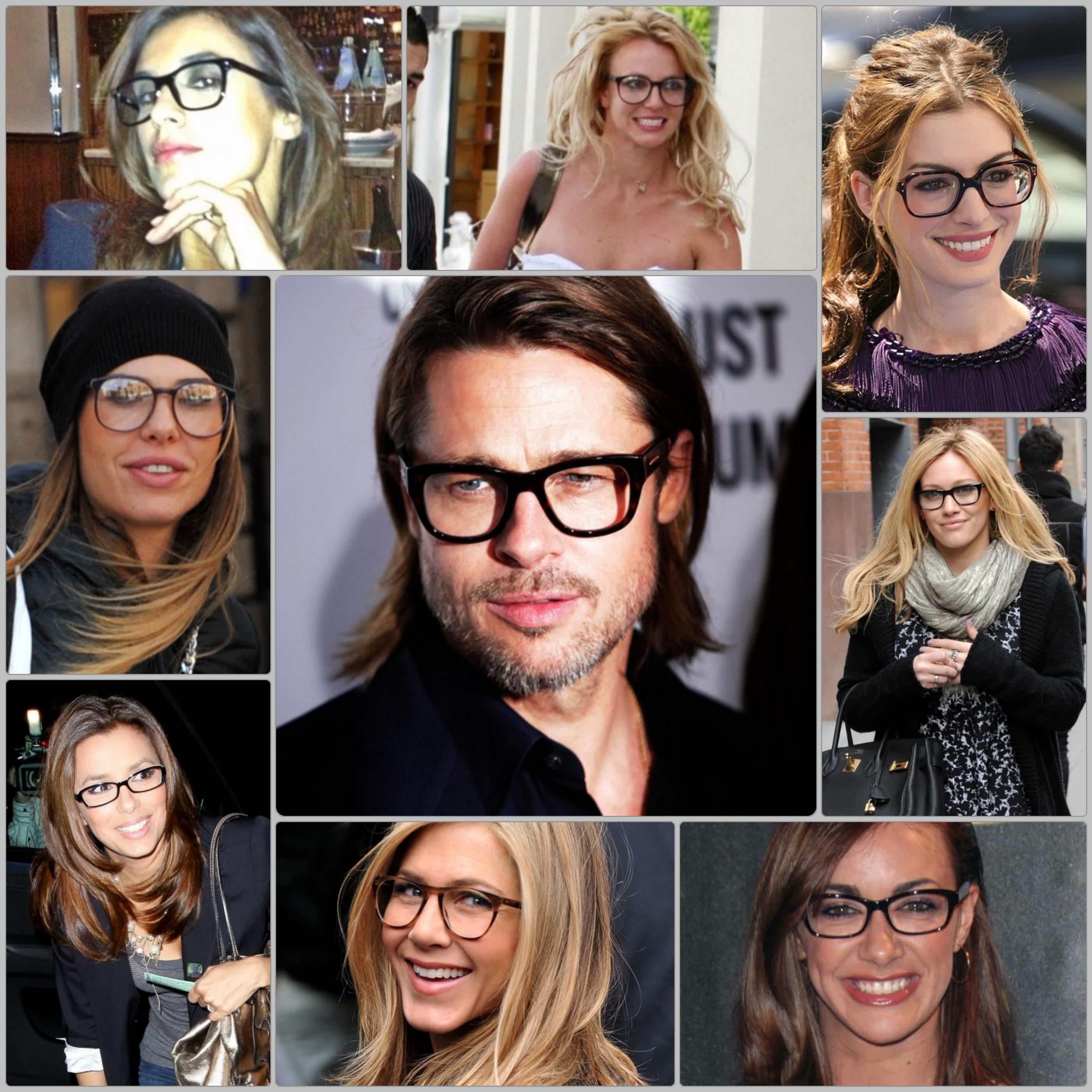 Occhiali da vista la mia top 3 the fashion ananas for Attrici con gli occhiali da vista
